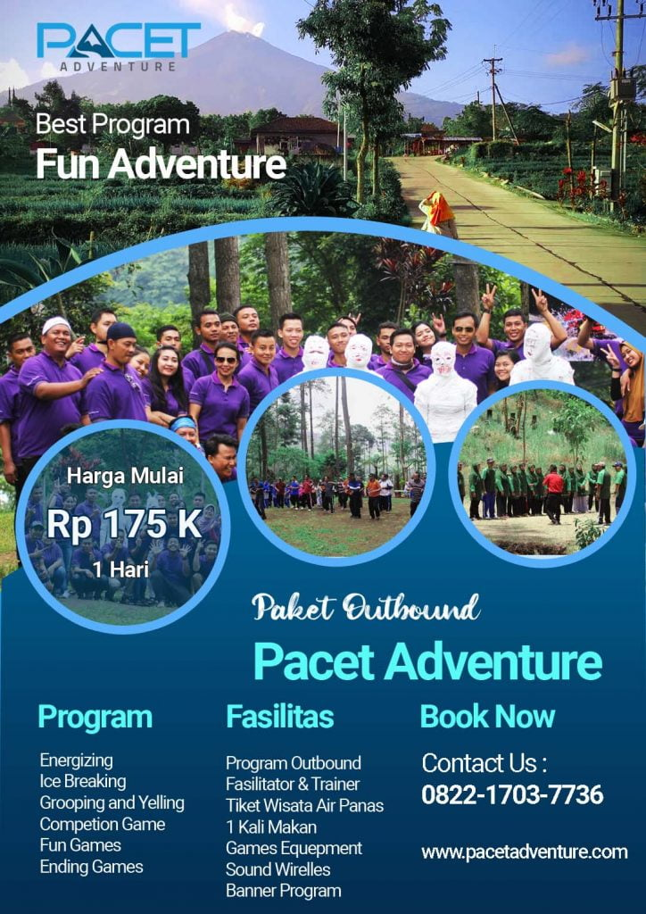 paket outbound pacet fun adventure